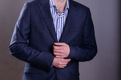 Buisnessman in suit Stock Photo