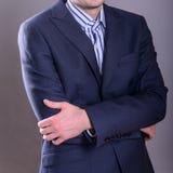 Buisnessman in suit Stock Image