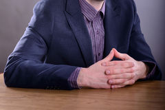 Buisnessman in suit Royalty Free Stock Photo