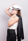 Buisnesswoman Foto de archivo libre de regalías