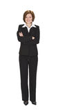 Buisnesswoman. Smiling young businesswoman standing up Royalty Free Stock Image