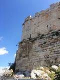 Buiten de Akropolis Royalty-vrije Stock Foto
