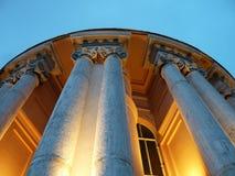 Buiten de koepelos Heilige Peter ` s basiliek in Rome, koepel` s buitenkant Stock Fotografie