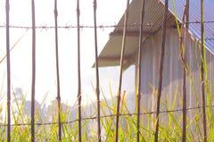 Buiten de poort Royalty-vrije Stock Foto