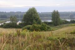 Buiten de stad - landelijk landschap Royalty-vrije Stock Afbeeldingen