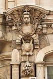 Buiten detail van Rousse Bulgarije royalty-vrije stock afbeelding