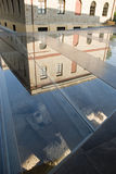 Buiten het nieuwe museum van Acropoli Royalty-vrije Stock Fotografie