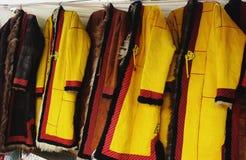 Buiten kleding met borduurwerk royalty-vrije stock afbeelding