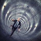 Buiten tunnel Royalty-vrije Stock Foto's