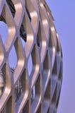 Buiten van de bouw van de staalstructuur Royalty-vrije Stock Foto's