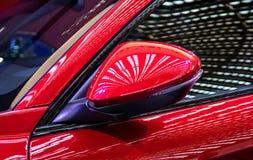 Buitendeel van moderne auto royalty-vrije stock foto's