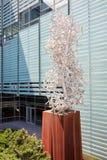 Buitenfractal van beeldhouwwerkespace door Jean Pierre Morin stock foto