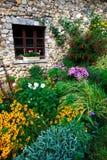 Buitengewone tuin Stock Foto