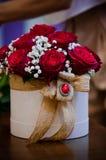 buitengewoon boekethoogtepunt van rozen stock fotografie