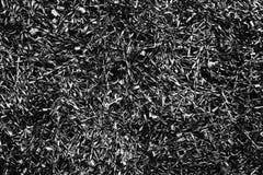 Buitengewoon brede grunge donkere textuur, groot voor textuurachtergrond De heldere zwart-witte donkere achtergrond van metaalspa Royalty-vrije Stock Fotografie