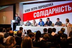 Buitengewoon congres van de politieke partij Stock Fotografie