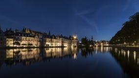 Buitenhof建立荷兰的议会 库存照片