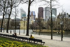 Buitenhof Dutch parliament Royalty Free Stock Images