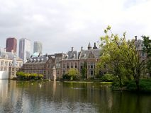 The buitenhof in the Hague Stock Images