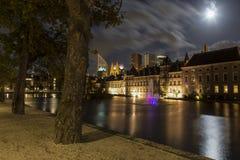 Buitenhof le bâtiment du parlement aux Pays-Bas Images stock