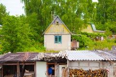 Buitenhuis, het landelijke leven Royalty-vrije Stock Fotografie