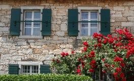 Buitenhuisvilla in Istria, Kroatië Stock Foto