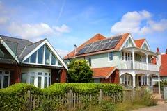 Buitenhuizen Kent England Stock Afbeelding