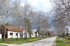 Buitenhuizen in Temerin Stock Afbeelding