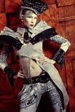 Buitenissig meisje Royalty-vrije Stock Foto