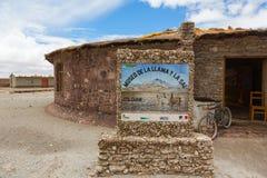 Buitenkant het museum van de lama's Royalty-vrije Stock Fotografie