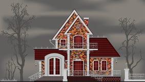 Buitenkant van buitenhuis vector illustratie