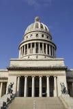 Buitenkant van Capitolio buildingin Havana, Cuba Royalty-vrije Stock Fotografie