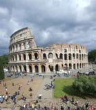 Buitenkant van Colosseum, Rome, Italay Royalty-vrije Stock Afbeeldingen