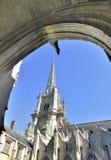 Buitenkant van een kathedraal Stock Fotografie