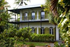 Buitenkant van het huis van Hemingway ` s Royalty-vrije Stock Foto's
