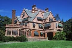 Buitenkant van het huis van Thomas Edison Royalty-vrije Stock Afbeeldingen