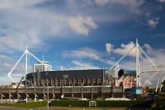 Buitenkant van het Millennium Stadium Royalty-vrije Stock Foto's