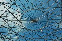 Buitenkant van het moderne dak van het Maritieme Museum in Amsterdam, Nederland Royalty-vrije Stock Foto