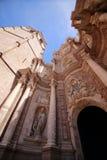 Buitenkant van kerk in Valencia, Spanje Stock Afbeelding