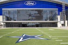 Buitenkant van modern Ford-centrum in Frisco Royalty-vrije Stock Afbeeldingen