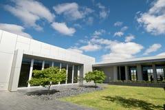 Buitenkant van Moderne Architectuur Royalty-vrije Stock Afbeelding