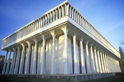 Buitenkant van Princeton-Universiteit, NJ Stock Foto