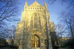 Buitenkant van Princeton-Universiteit, NJ in de Herfst Royalty-vrije Stock Foto