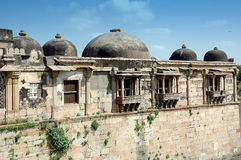Buitenkant van Sarkhej Roja, Ahmedabad, India stock fotografie