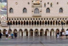 Buitenkant van Venetiaans Las Vegas royalty-vrije stock fotografie