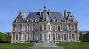 Buitenkanten van chateau van Sceaux, Sceaux, Frankrijk Stock Afbeelding