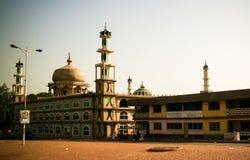 Buitenmening aan de Moskee van AFA Ajura, Tamale, Ghana royalty-vrije stock foto