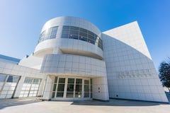 Buitenmening van beroemd Crocker Art Museum stock afbeelding