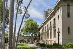 Buitenmening van de Predikantenpoorten, Zaal van Beleid in Ca royalty-vrije stock afbeelding