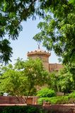 Buitenmening van het Paleis van Umaid Bhawan van Rajasthan Stock Afbeelding
